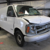 Salvage 1997 CHEVROLET G3500 EXPRESS CARGO VAN 5.7L VORTEC 5700 V8 MT1 4L80E