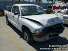 Used Parts 2001 Dodge Dakota 4×2 2.5L Manual