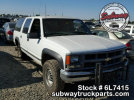Used Parts Chevy Suburban 2500 4×4 7.4L V8