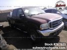 Used Parts 2004 Ford F250 XLT 6.0L 4×4