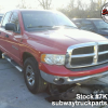 Used Parts 2004 Dodge Ram 1500 4.7L 4×2