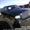 Used Parts 2002 Dodge Ram 1500 4.7L 4×2