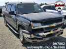 Used Parts 2004 Chevrolet Avalanche 5.3L 4×4