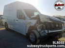 Used Parts 2018 Nissan NV2500 Cargo Van 4.0L