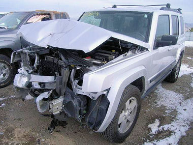 2008 Jeep Commander Sport 4x4 Suv Subway Truck Parts