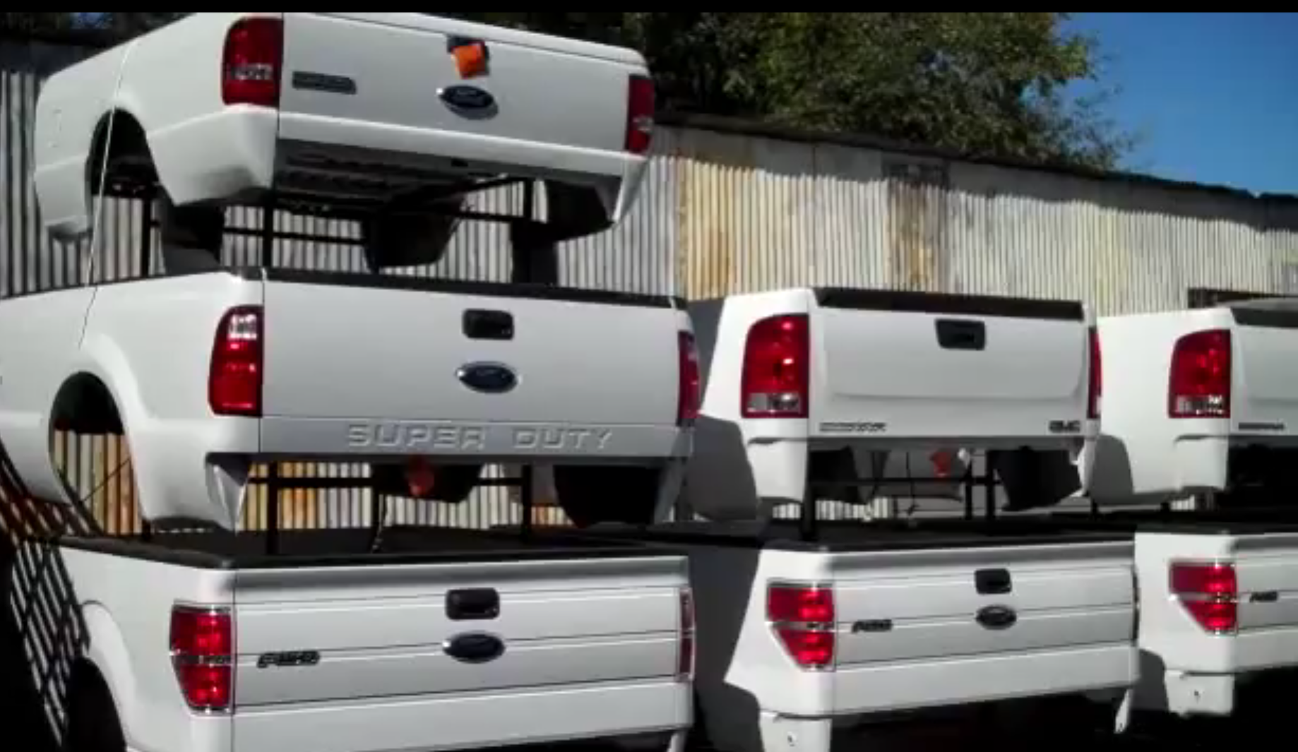 Ford F250 8 Foot Bed For Sale >> Pickup Truck Beds Tailgates Used Takeoff Sacramento