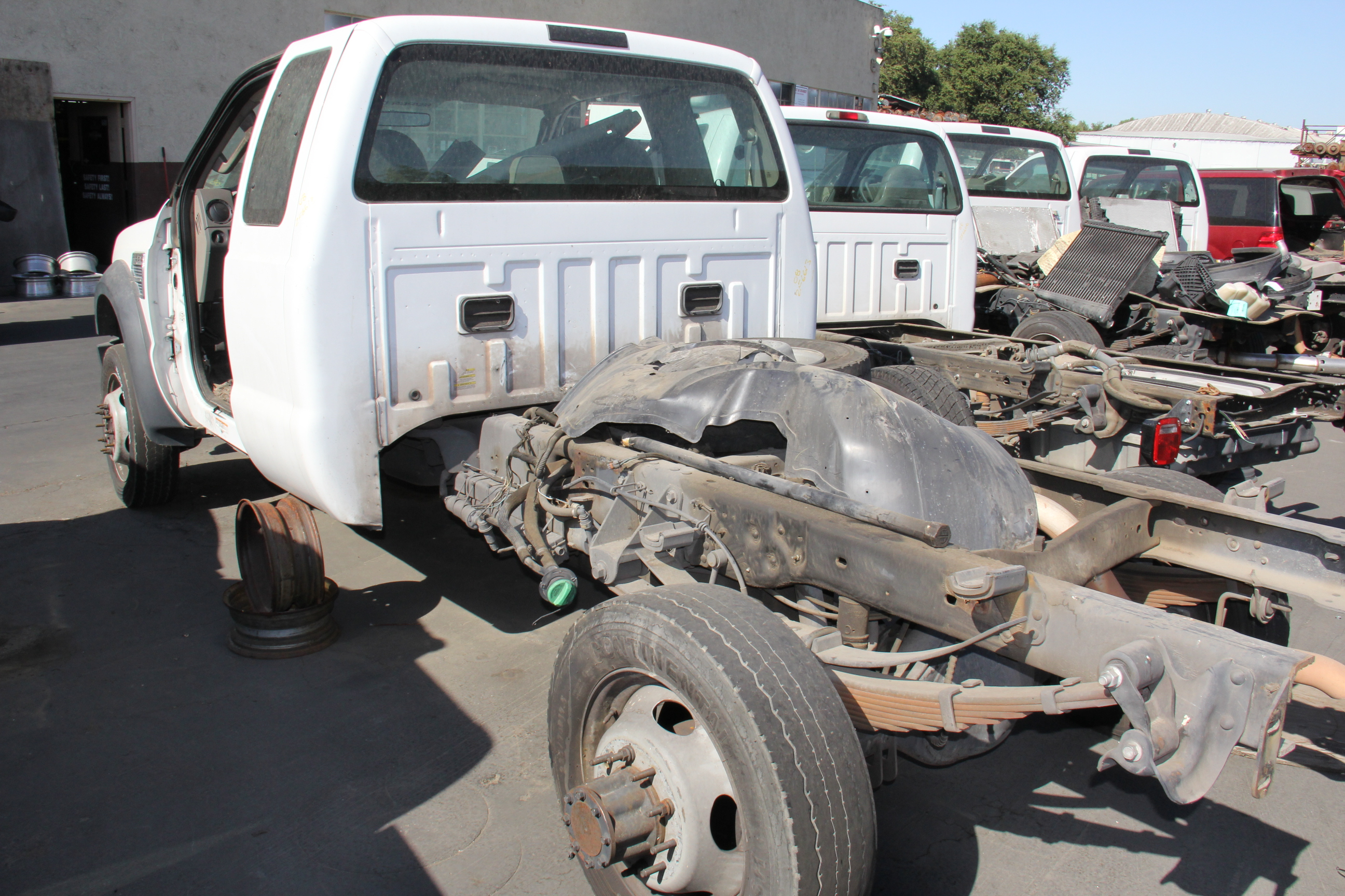 2008 Ford F 550 Super Duty 6 8l Subway Truck Parts Inc