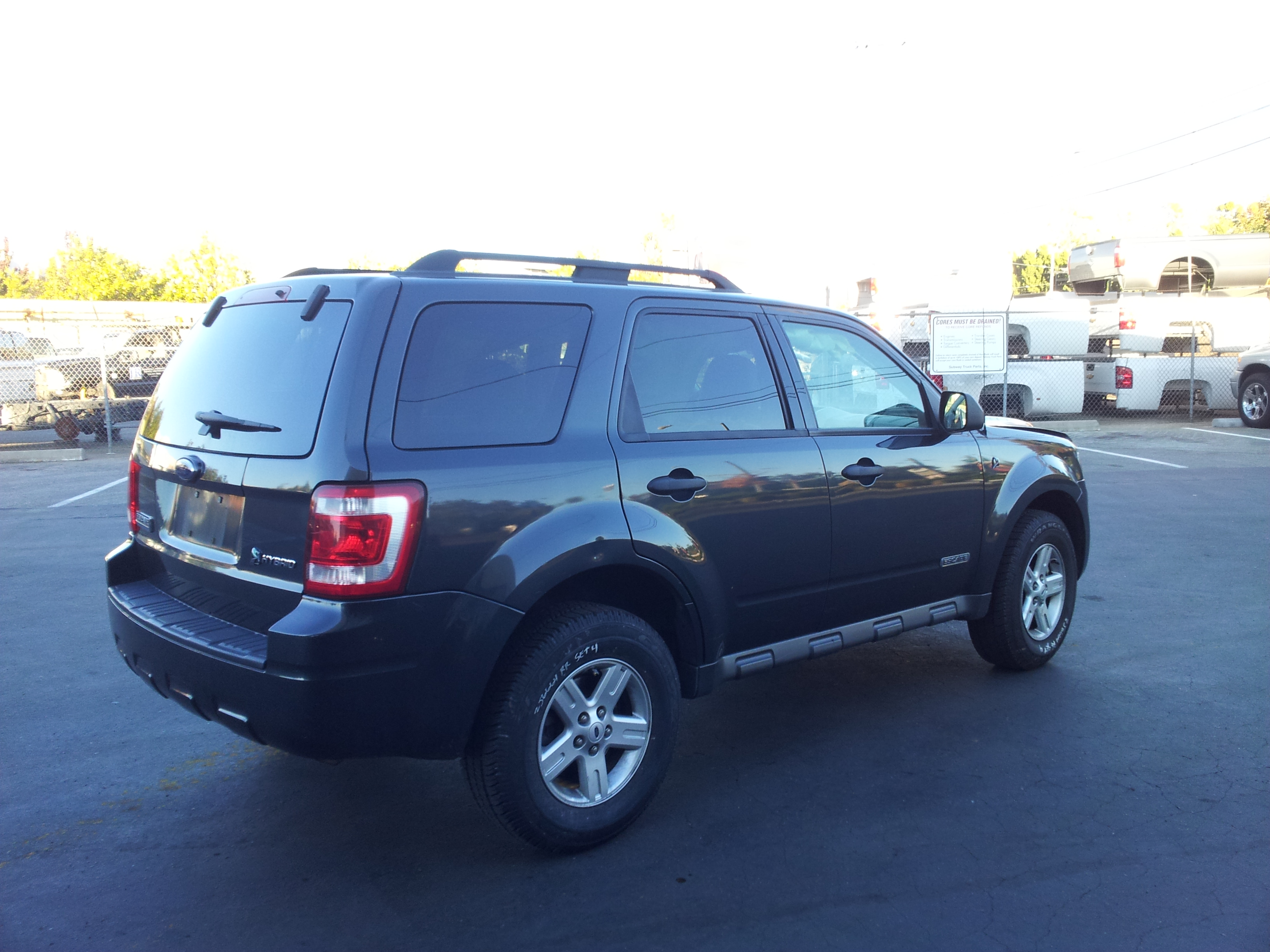 2008 Ford Escape Hybrid 2.3L Auto - Used Ford Escape ...