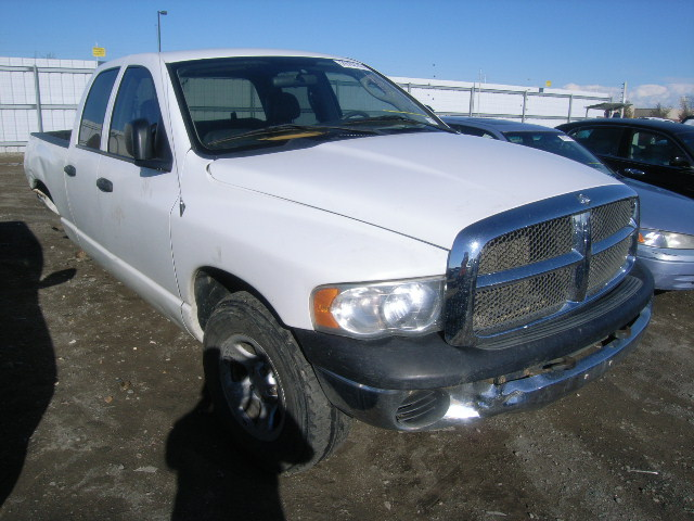 Dodge Truck Salvage Yards >> Used 2003 Dodge Ram 1500 Quad Cab 4x4 4 7l V8 Salvage Parts Subway