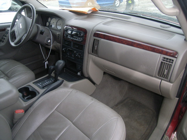 2004 jeep grand cherokee interior. Black Bedroom Furniture Sets. Home Design Ideas