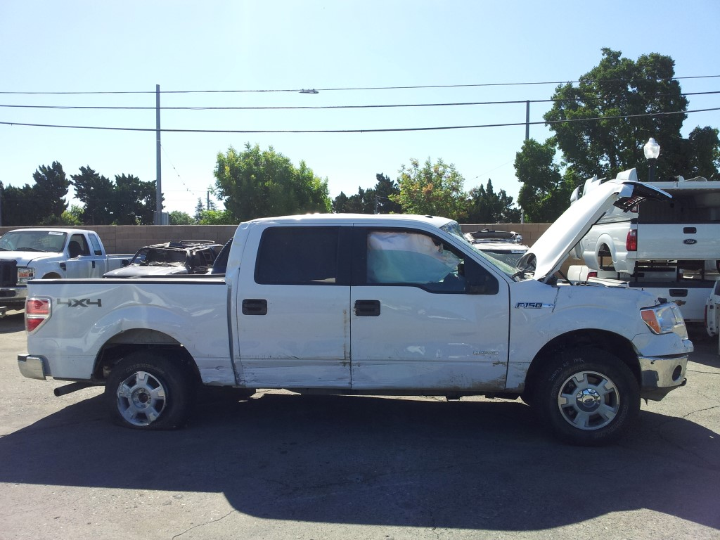 Used Parts 2013 Ford F150 XLT 4×4 3.5L Twin Turbo Ecoboost 6 Speed