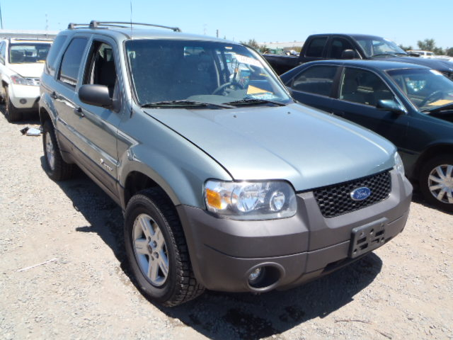 used parts 2006 ford escape hybrid 2 3l automatic electric. Black Bedroom Furniture Sets. Home Design Ideas
