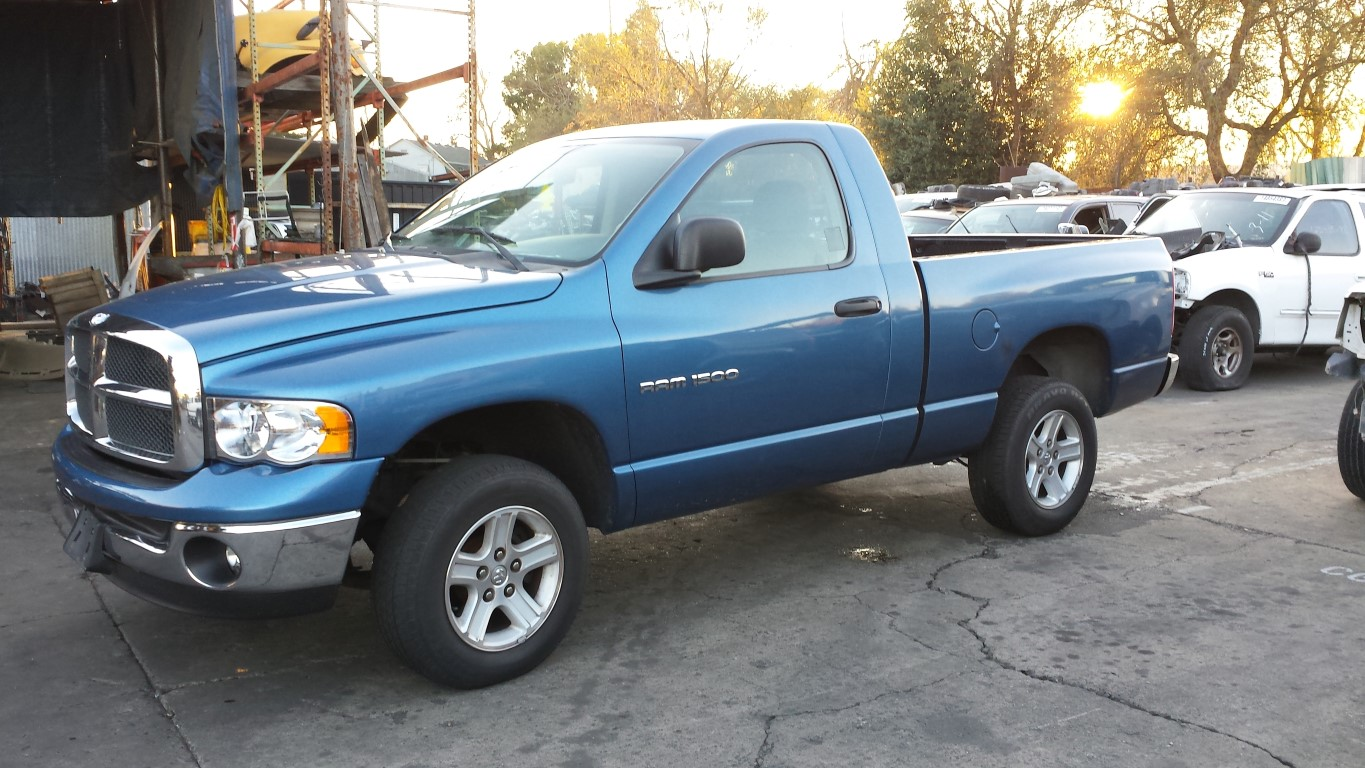 Parting Out 2003 Dodge Ram 1500 4 7l V8 45rfe