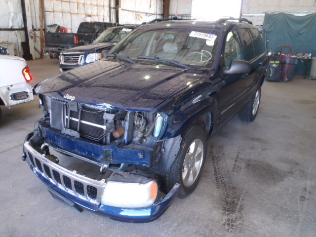 Parting Out 2001 JEEP GRAND CHEROKEE LIMITED 4X4 4.7L ...