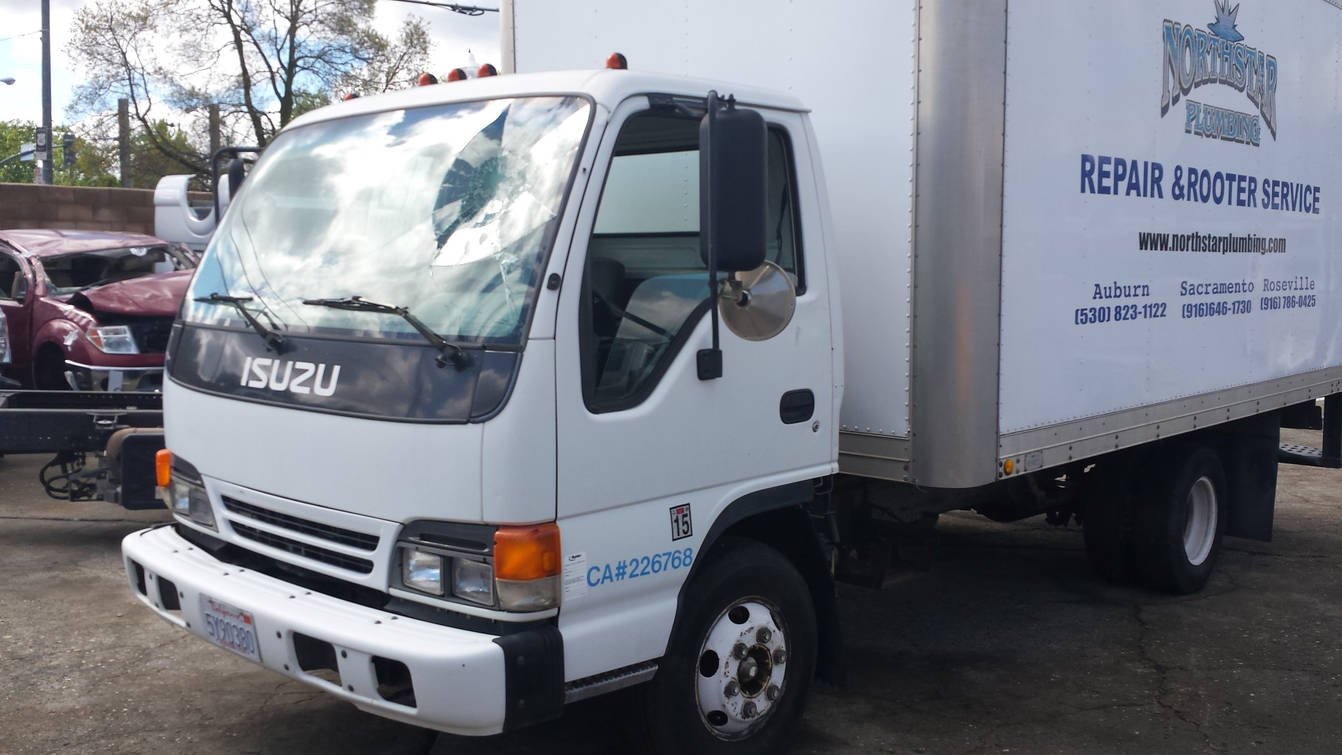 Captivating Parting Out 2000 Isuzu NPR Turbo Diesel Box Truck