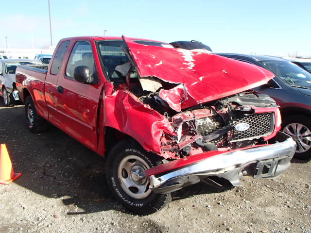 Salvage Used Parts 2001 FORD F150 HERITAGE XLT 2WD 4.2L V6 ...