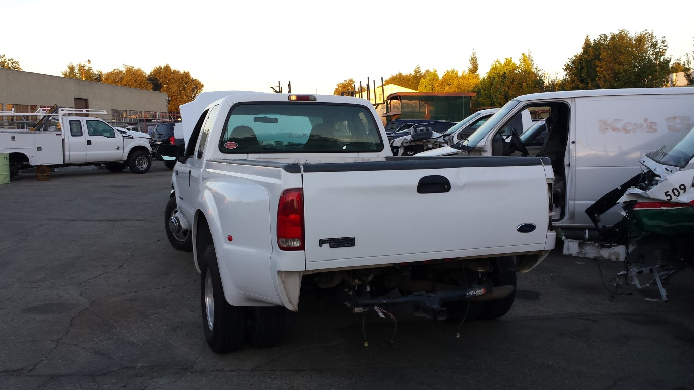 Used Parts 1999 Ford F350 7 3l Powerstroke Turbo Diesel Zf Manual Guide