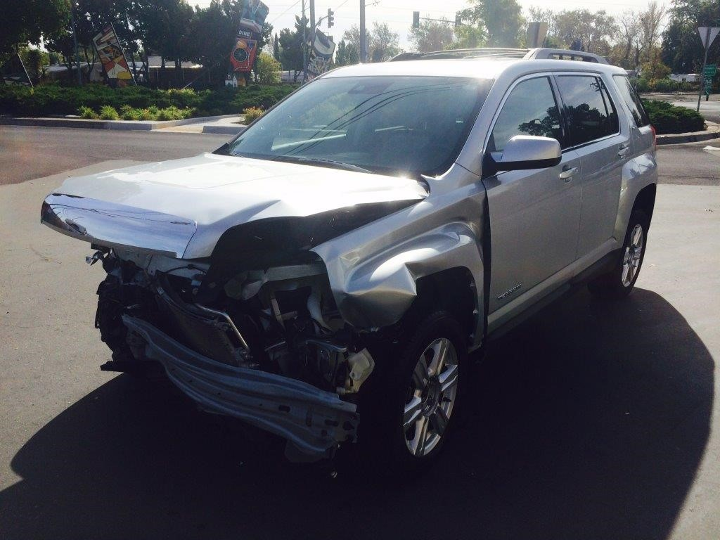 Used Parts 2014 GMC Terrain FWD 24L NU6 Engine Automatic