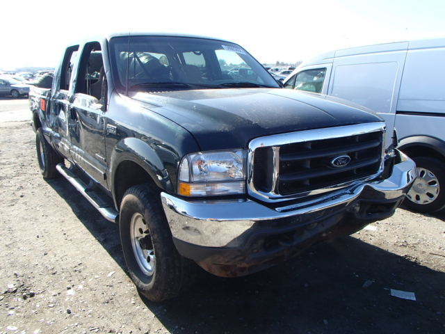 Ford F250 Parts >> Used Parts 2002 Ford F250 4x4 7 3l V8 Powerstroke Turbo