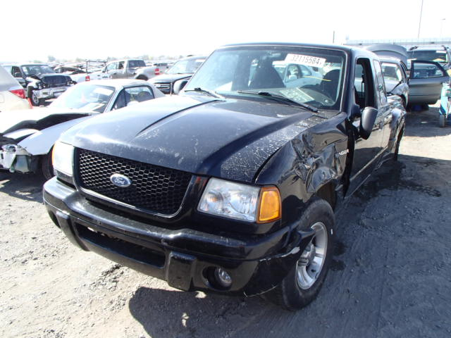 Ford Ranger Salvage Repairable: Used Parts 2003 Ford Ranger 3.0L V6 4R44E 5 Speed
