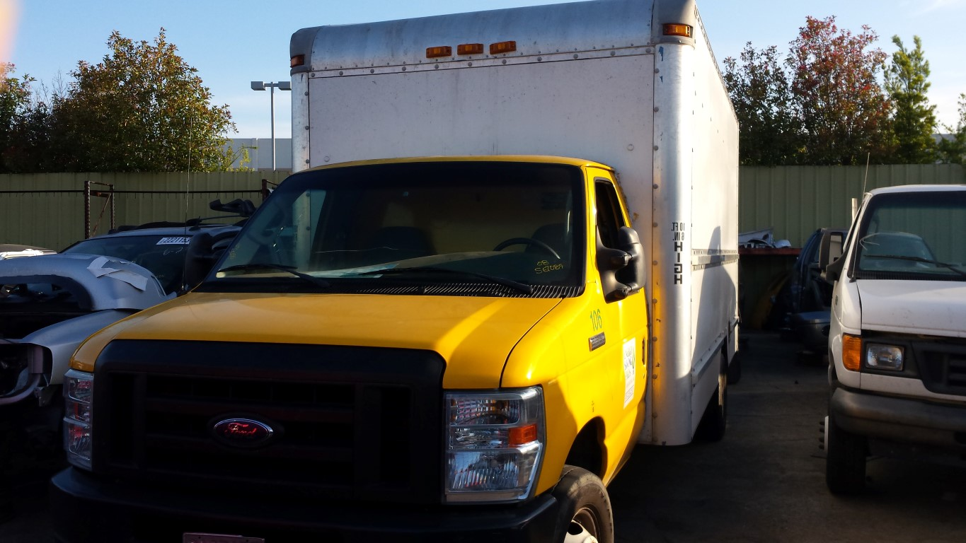 Nissan Frontier Pro 4X >> Used Parts 2008 Ford E350 Cargo Van 5.4L V8 Torqshift 5 ...