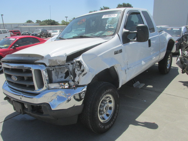 Used parts 2002 ford f250 xlt 5 4l v8 engine 4r100 for Used ford truck motors