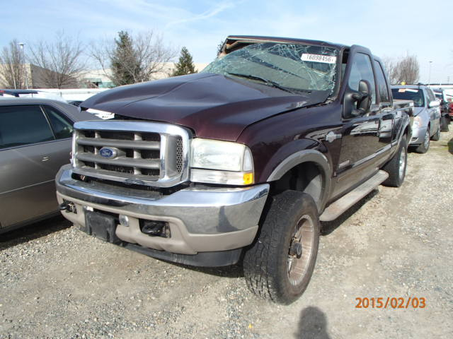 Used Ford Truck Parts : Used parts ford f lariat king ranch l v engine
