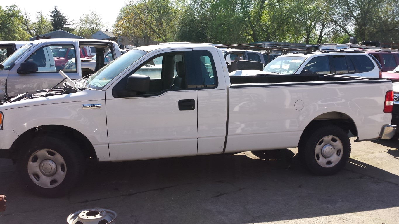 Used Ford Truck Parts : Used parts ford f xl l v engine r e