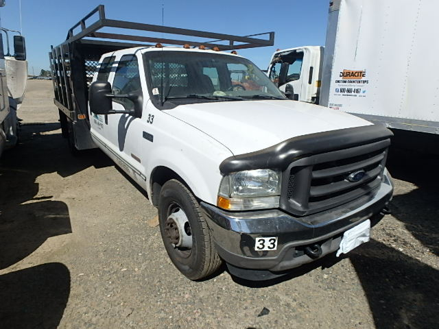 used parts 2003 ford f350 6.0l vin p diesel engine   subway truck