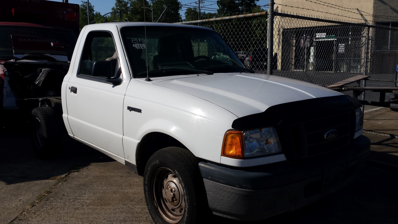 Used Parts 2004 Ford Ranger Xl 23l Engine Vin D Subway Truck