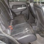 2010 Jeep Liberty rear seats