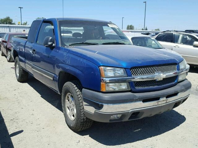 Salvage 2003 Chevrolet Silverado K1500 Subway Truck Parts