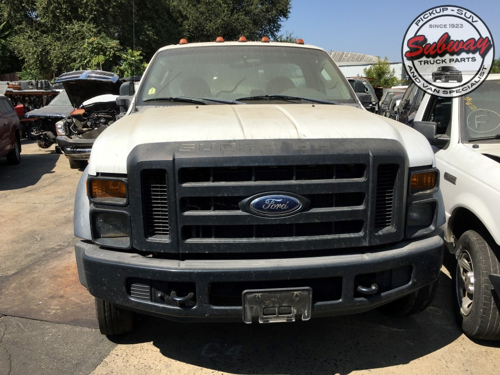 Salvage 2008 Ford F450 XL Subway Truck Parts Inc