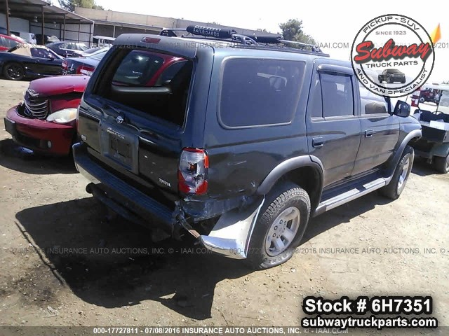 used parts 1998 toyota 4runner sr5 4x4 3 4l 5vzfe v6 subway truck parts inc auto recycling. Black Bedroom Furniture Sets. Home Design Ideas