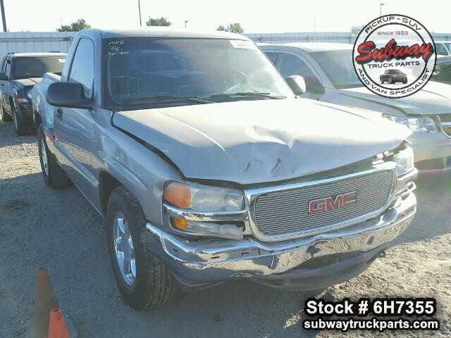 Gmc Truck Parts >> Used Parts 2001 Gmc Sierra 1500 2wd 4 3l L35 V6 Subway Truck Parts