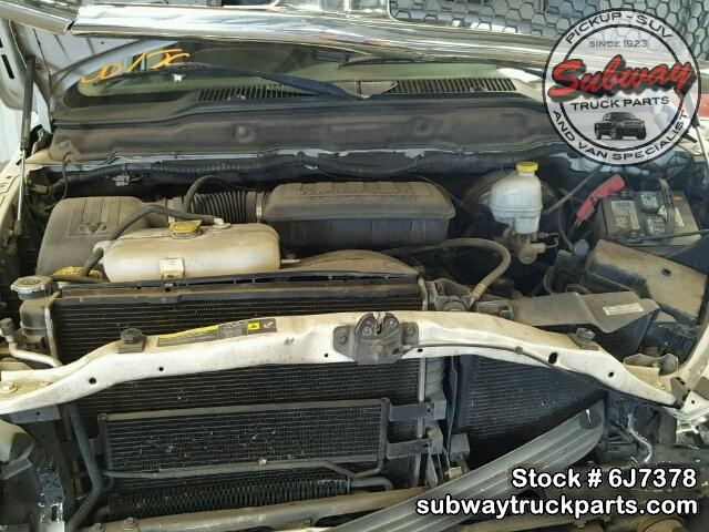 used parts 2004 dodge ram 1500 slt 4x2 4 7l v8 subway truck parts inc auto recycling since. Black Bedroom Furniture Sets. Home Design Ideas