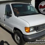 Used Parts 2006 Ford E150 Cargo Van 4 6L V8 | Subway Truck