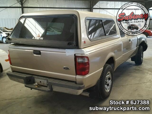 used parts 2001 ford ranger xlt 4x2 4 0l v6 subway truck. Black Bedroom Furniture Sets. Home Design Ideas
