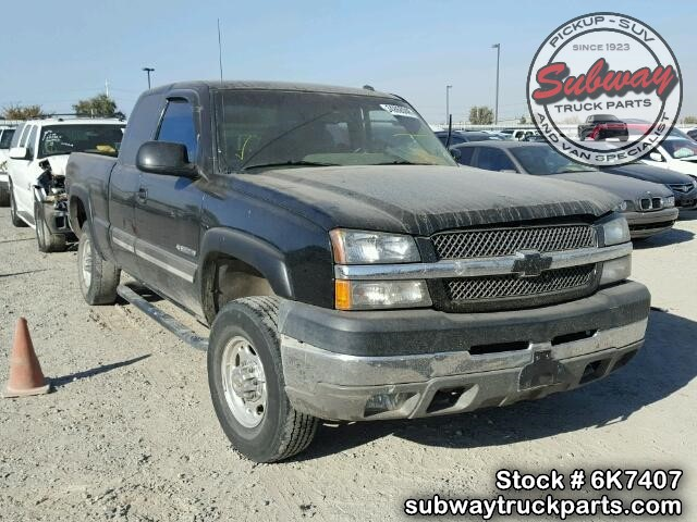 2003 Chevy Truck Parts