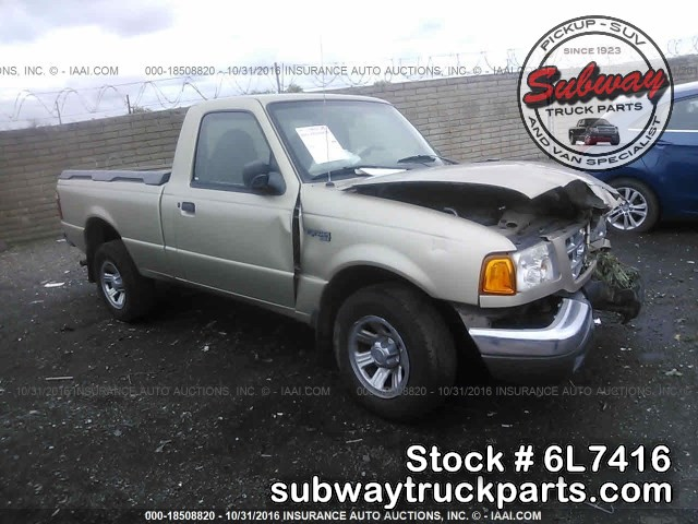 used parts 2001 ford ranger xlt 4x2 2 5l manual subway. Black Bedroom Furniture Sets. Home Design Ideas