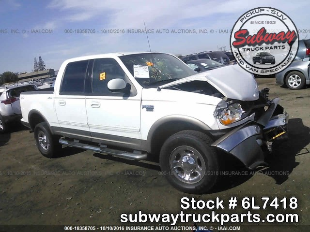 Ford Truck Parts >> Used Parts 2003 Ford F150 Super Crew Lariat 4x4 5 4l V8 Subway