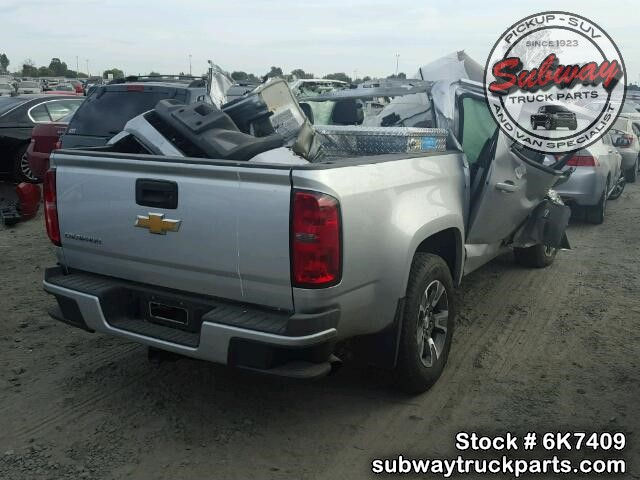 Salvage 2015 Chevrolet Colorado Parts Subway Truck Parts