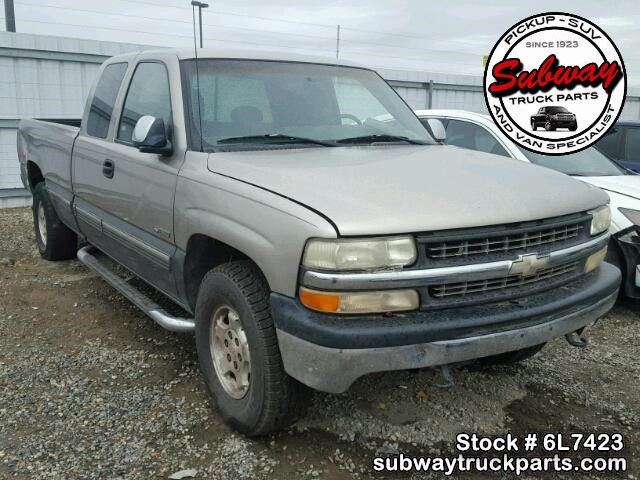 Used Parts 2000 Chevrolet Silverado 1500 5 3l Lm7 4x4 Subway Truck