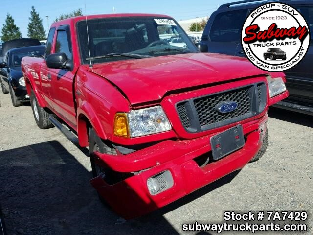 Used Parts 2004 Ford Ranger Edge 3 0l V6 Auto Subway Truck Parts Inc Auto Recycling Since 1923