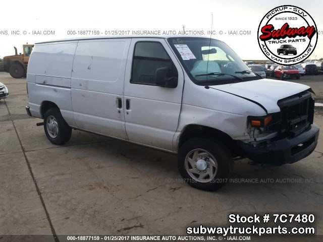 Used Parts 2008 Ford E150 Cargo Van 4 6l