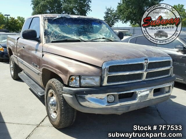 Used Parts 2000 Dodge Ram 2500 8 0l V10 4x2 Subway Truck Parts Inc Auto Recycling Since 1923