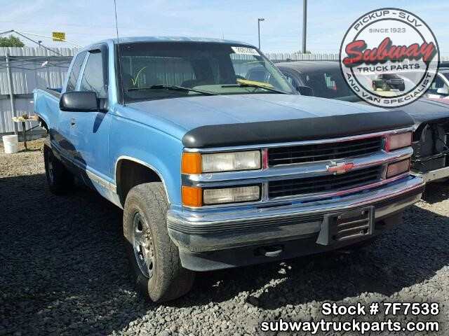 used parts 1996 chevrolet silverado 1500 5 7l 4x4 subway. Black Bedroom Furniture Sets. Home Design Ideas