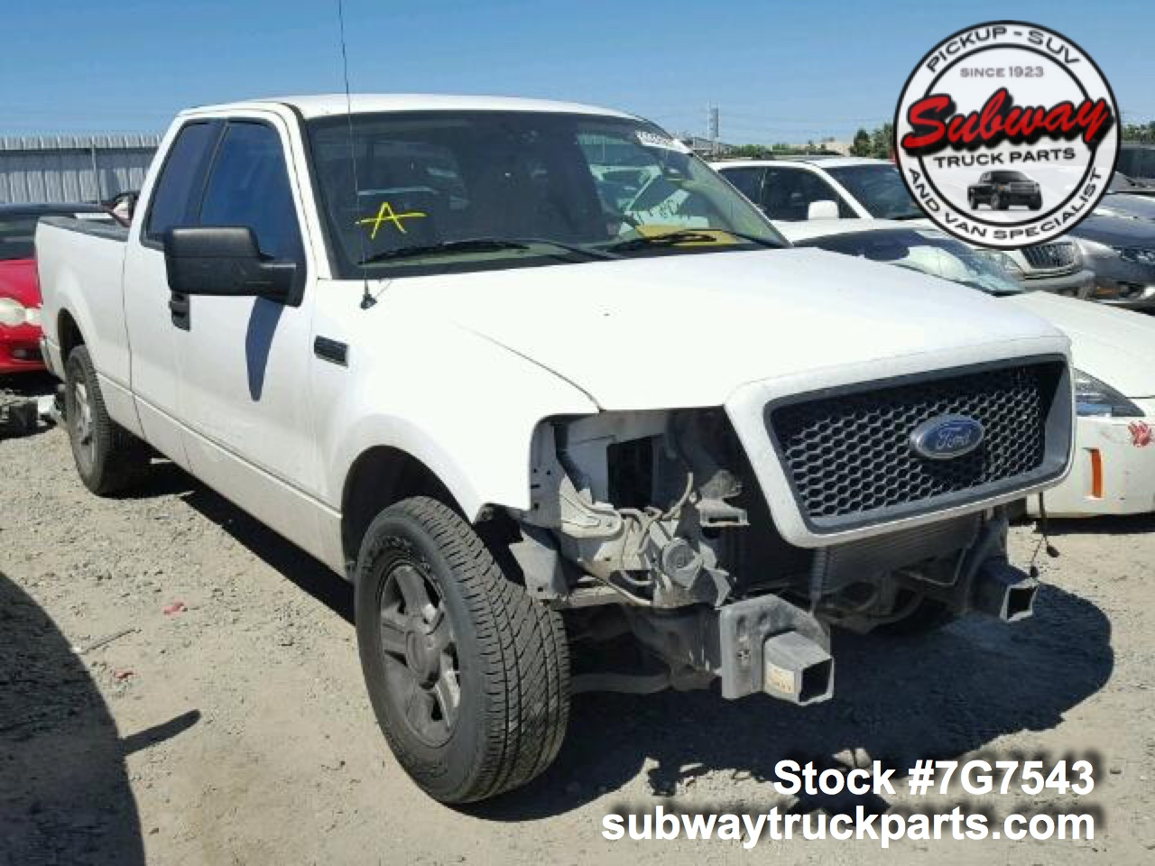 Used Parts 2004 Ford F150 Xlt 5 4l 4x2 Subway Truck Parts