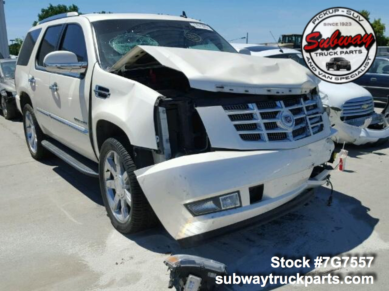 Used Parts 2009 Cadillac Escalade 6 2L 4x2 | Subway Truck