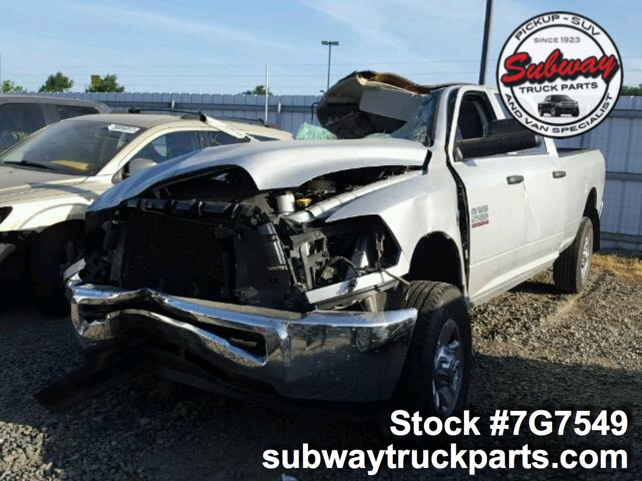 used parts 2016 dodge ram 2500 6 7l turbo diesel 4x4 subway truck parts inc auto recycling. Black Bedroom Furniture Sets. Home Design Ideas